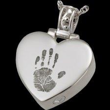 Tender Heart Cremation Print Keepsakes