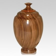 Halelui Wood Cremation Urn