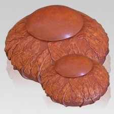 Terra Ivy Ceramic Cremation Urns