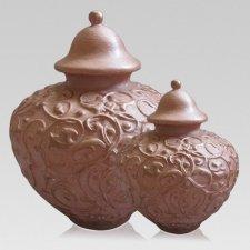 Terrace Ceramic Cremation Urns