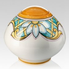 Terrazza Ceramic Cremation Urn