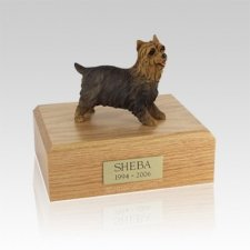 Terrier Yorkshire Small Dog Urn