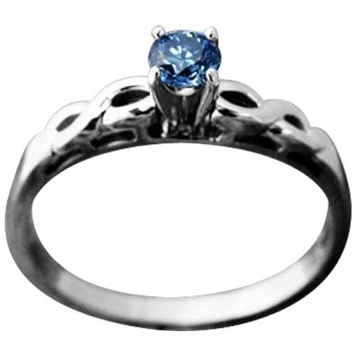 Tiara Solitaire Ring