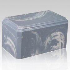 Tide Blue Marble Cremation Urn