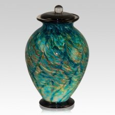 Tide Glass Cremation Urn