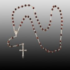 Tiger Eye Cremation Rosary