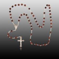 Tiger Eye Rosary