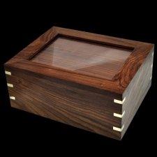 Timber Photo Cremation Urn