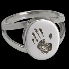 Timeless Cremation Print Rings