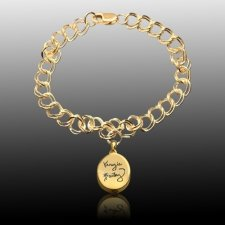 Timeless Cremation Charm Bracelet II