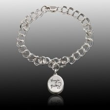 Timeless Cremation Charm Bracelet III
