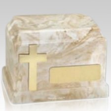 Timeless Cross Keepsake Urn