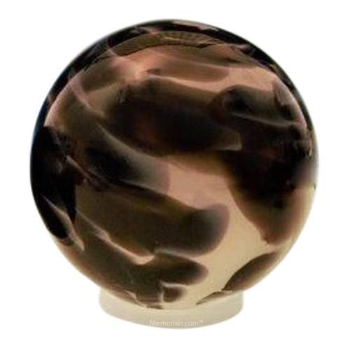 Timeless Orb Glass Pet Urn