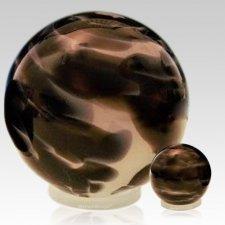 Timeless Orb Glass Pet Urns