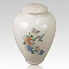 Chuparosa Ceramic Cremation Urn