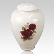 Rosario Ceramic Cremation Urn