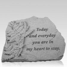 Today Fern Memorial Stone