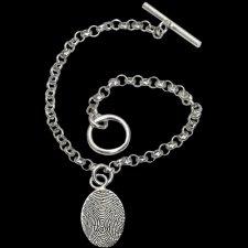 Toggle Print Bracelet