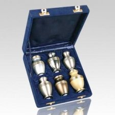 Diamond Keepsake Cremation Urn Set