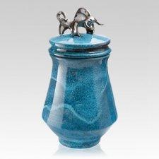 Toro Negro Ceramic Cremation Urn