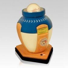 Toronto Blue Jays Baseball Cremation Urn
