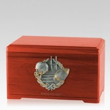 Touchdown Fan Cherry Cremation Urn
