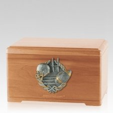 Touchdown Fan Light Cherry Cremation Urn