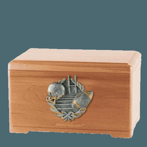 Touchdown Fan Light Cherry Cremation Urn