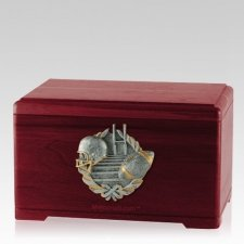 Touchdown Fan Rosewood Cremation Urn