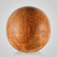 Tourner Wood Cremation Urn