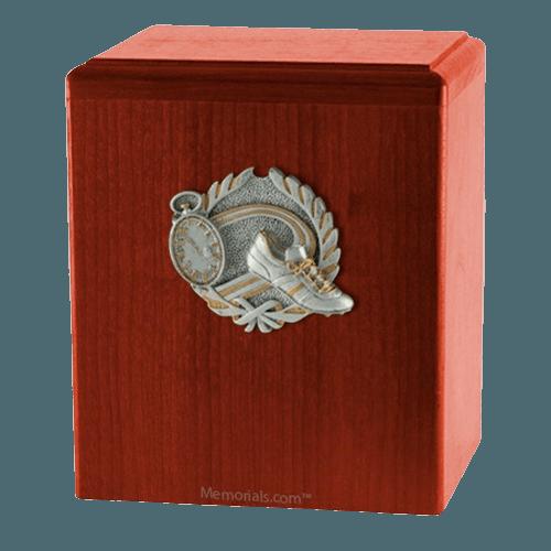Track Cherry Cremation Urn