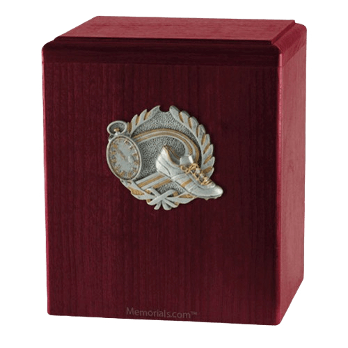 Track Rosewood Cremation Urn