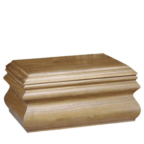 Traditional Walnut Companion Urn