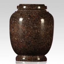 Traditional Mahogany Child Cremation Urn