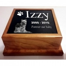 Traditional Photo Pet Urn