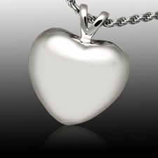 Tranquil Heart Cremation Pendant