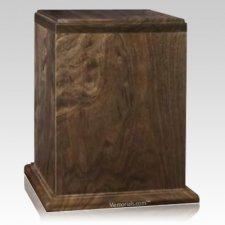 Treasure Wood Cremation Urn