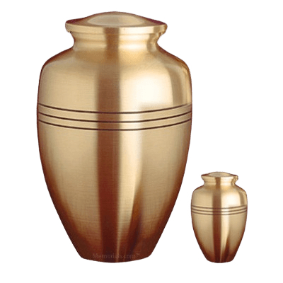 Trenton Bronze Cremation Urns