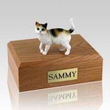 Tri-color X Large Cat Cremation Urn
