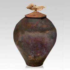 Tribal Cremation Urn