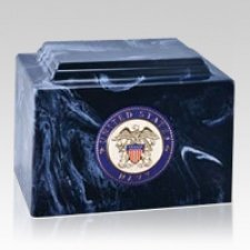 Tribute Navy Cremation Urn