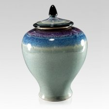 Trifecta Art Cremation Urn