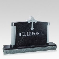 Trinity Companion Granite Headstone