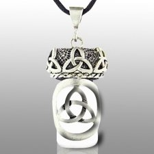 Triquetra Pet Keepsake Necklace