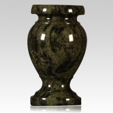Tropical Green Granite Vase