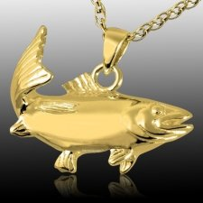 Trout Cremation Pendant II