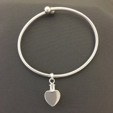 True Heart Ash Cremation Bracelet