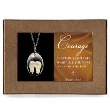 Trust Gift Boxed Angel Pendant