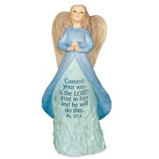 Trust In Him Keepsake Angel