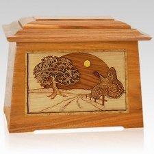 Turkey Mahogany Aristocrat Cremation Urn